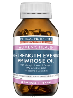 Ethical Nutrients Hi-Strength Evening Primrose Oil 60 Capsules | Vitality and Wellness Centre