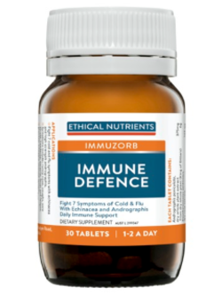 Ethical Nutrients Immune Defence 30 Tablets | Vitality and Wellness Centre