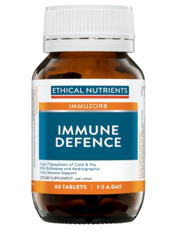 Ethical Nutrients Immune Defence 60 Tablets | Vitality and Wellness Centre