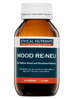 Ethical Nutrients Mood Re-Neu 60 Capsules | Vitality and Wellness Centre