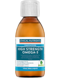 Ethical Nutrients OMEGAZORB High Strength Omega-3 170ml Fresh Mint | Vitality and Wellness Centre