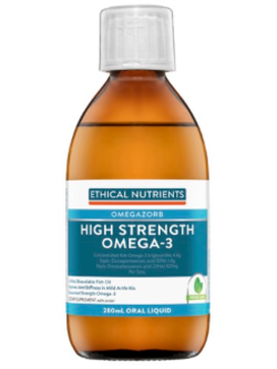 Ethical Nutrients OMEGAZORB High Strength Omega-3 280ml Fresh Mint | Vitality and Wellness Centre