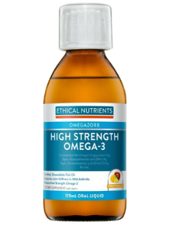 Ethical Nutrients OMEGAZORB High Strength Omega-3 170ml Fruit Punch | Vitality and Wellness Centre