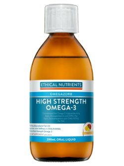 Ethical Nutrients OMEGAZORB High Strength Omega-3 280ml Fruit Punch | Vitality and Wellness Centre