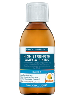 Ethical Nutrients OMEGAZORB High Strength Omega-3 Kids 90ml Liquid | Vitality and Wellness Centre