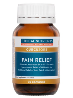 Ethical Nutrients Pain Relief 30 Capsules | Vitality and Wellness Centre