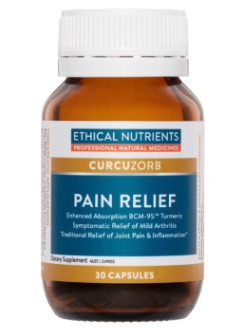 Ethical Nutrients Pain Relief Triple Strength 30 Capsules | Vitality and Wellness Centre