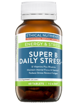Ethical Nutrients Super B Daily Stress + 60 Tablets | Vitality and Wellness Centre