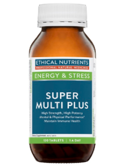Ethical Nutrients Super Multi Plus 120 Tablets | Vitality and Wellness Centre