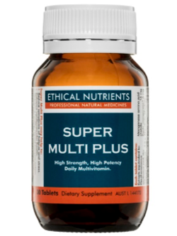 Ethical Nutrients Super Multi Plus 30 Tablets | Vitality and Wellness Centre