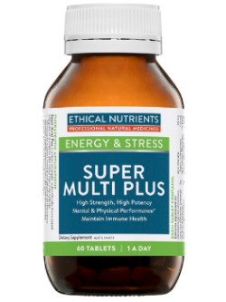 Ethical Nutrients Super Multi Plus 60 Tablets | Vitality and Wellness Centre