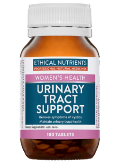 Ethical Nutrients Urinary Tract Support 180 Tablets | Vitality and Wellness Centre