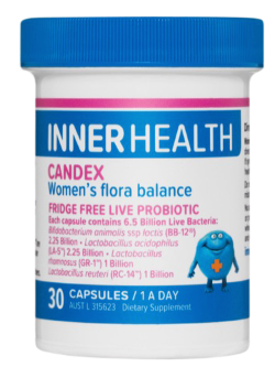 Inner Health Candex 30 Capsules | Vitality and Wellness Centre