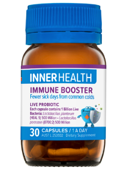 Inner Health Immune Booster 30 Capsules | Vitality and Wellness Centre