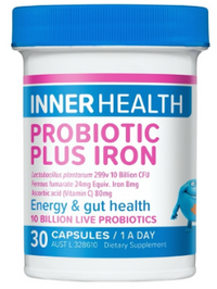 Inner Health Probiotic Plus Iron