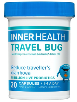 Inner Health Travel Bug 20 Capsules | Vitality and Wellness Centre