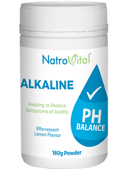 NatroVital AlkaLine pH Balance 180g Powder | Vitality And Wellness Centre