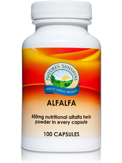 Nature's Sunshine Alfalfa 100 Capsules | Vitality And Wellness Centre