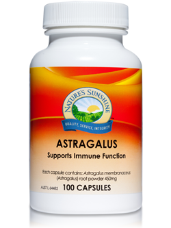 Nature's Sunshine Astragalus 100 Capsules | Vitality And Wellness Centre