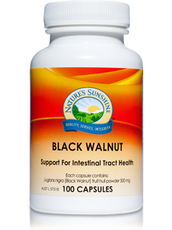 Nature's Sunshine Black Walnut 100 Capsules