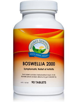 Nature's Sunshine Boswellia 2000 90 Tablets