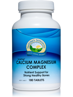 Nature's Sunshine Calcium Magnesium Complex 180 Tablets | vitality And Wellness Centre