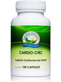 Nature's Sunshine Cardio Circ 100 Capsules | Vitality And Wellness Centre