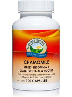 Nature's Sunshine Chamomile 100 capsules | Vitality And Wellness Centre