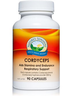 Nature's Sunshine Cordyceps 90 Capsules | Vitality And Wellness Centre
