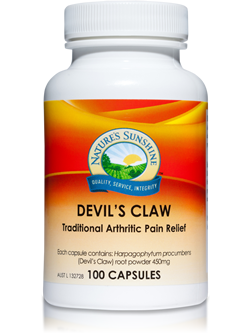 Nature's Sunshine Devil's Claw 100 Capsules | Vitality And Wellness Centre