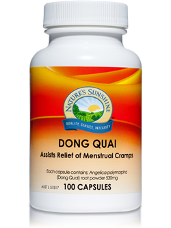 Nature's Sunshine Dong Quai 100 Capsules | Vitality And Wellness Centre