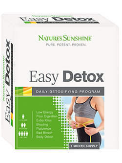 Nature's Sunshine Easy Detox | vitality And Wellness Centre