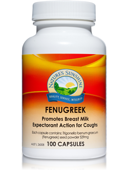 Nature's Sunshine Fenugreek 100 Capsules | Vitality And Wellness Centre