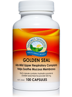 Nature's Sunshine Golden Seal 100 Capsules | Vitality And Wellness Centre