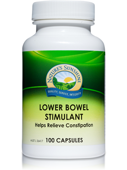 Nature's Sunshine Lower Bowel Stimulant 100 Capsules | Vitality And Wellness Centre