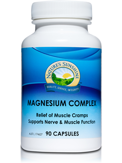 Nature's Sunshine Magnesium Complex 90 Capsules | Vitality And Wellness Centre