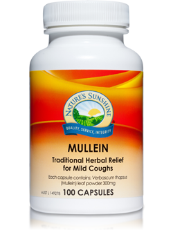 Nature's Sunshine Mullein 100 Capsules | Vitality And Wellness Centre