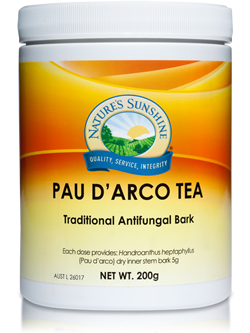 Nature's Sunshine Pau D'Arco Tea 200g | Vitality And Wellness Centre