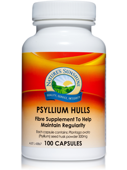 Nature's Sunshine Psyllium Hulls 100 Capsules | Vitality And Wellness Centre