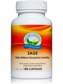 Nature's Sunshine Sage 100 Capsules | Vitality And Wellness Centre