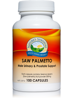 Nature's Sunshine Saw Palmetto 100 Capsules | Vitality And wellness Centre