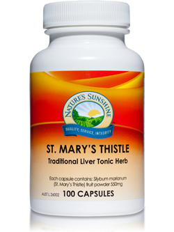 Nature's Sunshine St Mary's Thistle 100 Capsules | Vitality And Wellness Centre