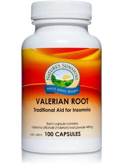 Nature's Sunshine Valerian Root 100 Capsules | Vitality And Wellness Centre