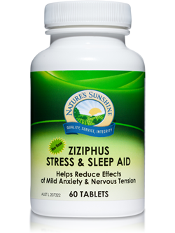 Nature's Sunshine Ziziphus Stress and Sleep Aid 60 Tablets | Vitality And Wellness Centre