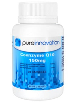 Pure Innovation Co-Enzyme Q10 Capsules