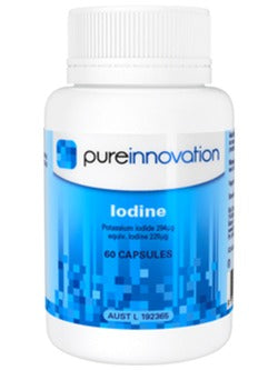 Pure Innovation Iodine Capsules | Vitality and Wellness