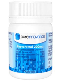 Pure Innovation Resveratrol 200mg