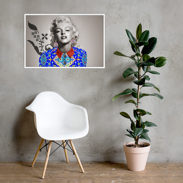 Marylin Framed poster