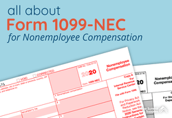 What is Form 1099-NEC for Nonemployee Compensation?