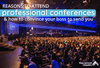 Reasons to Attend Professional Conferences (And How to Convince Your Boss to Send You)